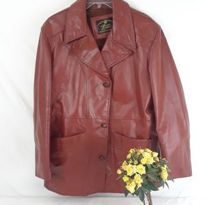 Womens Genuine Leather Jacket